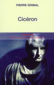 Cicéron - Couverture - Format classique