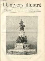 L'UNIVERS ILLUSTRE - TRENTE HUITIEME ANNEE N° 2102 Saint Quentin - Couverture - Format classique