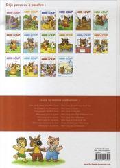 Mini-Loup et les pirates - 4ème de couverture - Format classique
