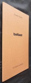 Ballast - Couverture - Format classique