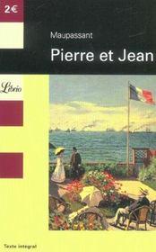 Couverture de Pierre et jean