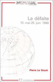 162la defaite - Couverture - Format classique