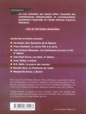 Diderot ; la religieuse - 4ème de couverture - Format classique