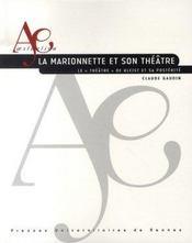 La marionnette et son théâtre ; le théâtre de kleist et sa postérité - Intérieur - Format classique