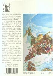 Les annales du Disque-monde T.17 ; les tribulations d'un mage en aurient - 4ème de couverture - Format classique