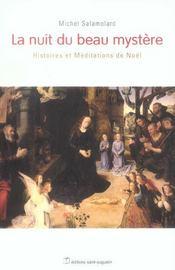La nuit du beau mystère ; histoires et méditations de Noël - Intérieur - Format classique