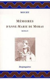 Mémoires d'anne-marie de moras - Intérieur - Format classique