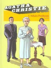 Agatha Christie t.9 ; l'affaire Protheroe - Intérieur - Format classique