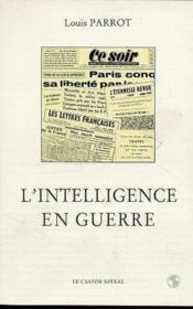 L'Intelligence En Guerre - Couverture - Format classique