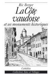 La Cote Vaudoise - Couverture - Format classique