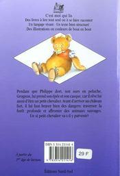 Chevalier Grognon - 4ème de couverture - Format classique
