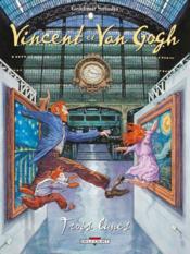 Vincent et Van Gogh t.2 ; trois lunes - Couverture - Format classique