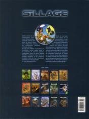 Sillage t.15 ; chasse gardée - 4ème de couverture - Format classique