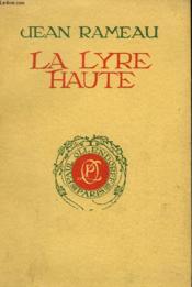 La Lyre Haute - Couverture - Format classique