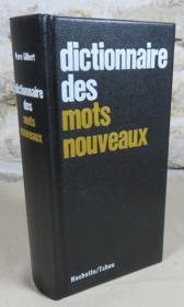 Dictionnaire des mots nouveaux. - Couverture - Format classique