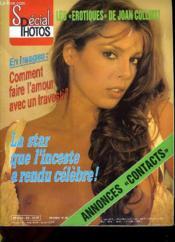 CINE REVUE - SPECIAL PHOTOS - 64E ANNEE - N°20 - LES EROTISUES DE JOAN COLLINS - La star que l'inceste a rendu célèbre - en images: comment faire l'amour avec un travesti. - Couverture - Format classique