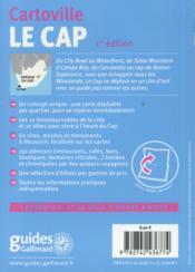 Le Cap - 4ème de couverture - Format classique
