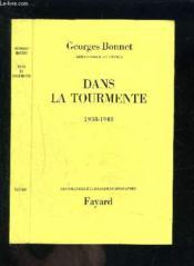 Dans La Tourmente- 1938-1948 - Couverture - Format classique