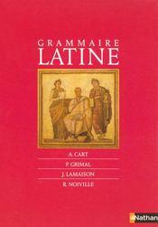 telecharger Grammaire latine livre PDF en ligne gratuit