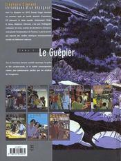 Stéphane Clément, chroniques d'un voyageur t.1 ; le guêpier - 4ème de couverture - Format classique