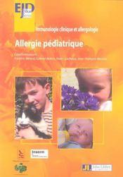 Allergie Pediadrique-Immunologie Clinique Et Allergologie - Intérieur - Format classique