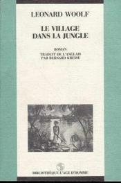Le Village Dans La Jungle - Couverture - Format classique