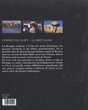 La Bretagne - 4ème de couverture - Format classique
