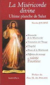 La Misericorde Divine ; L'Ultime Planche De Salut - Intérieur - Format classique