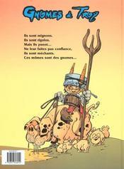 Gnomes de Troy t.1 - 4ème de couverture - Format classique