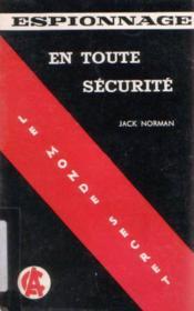 En toute sécurité - Couverture - Format classique