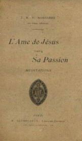 L'ame de Jésus dans sa passion - Couverture - Format classique