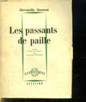Les Passants De Paille. - Couverture - Format classique