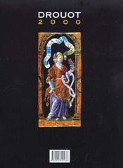 Drouot 2000 ; l'art et les encheres en france - 4ème de couverture - Format classique