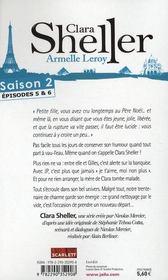 Clara Sheller saison 2 ; épisodes 5 et 6 - 4ème de couverture - Format classique