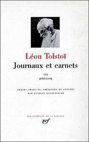Journaux et carnets t.3 ; 1905-1910 - Intérieur - Format classique