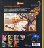 Les animaux prédateurs - 4ème de couverture - Format classique