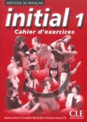 INITIAL 1 ; cahier d'exercices - Couverture - Format classique