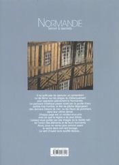 Normandie ; terroir à secrets - 4ème de couverture - Format classique