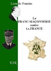La Franc-Maconnerie Contre La France - Couverture - Format classique