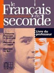 Le francais en seconde - Intérieur - Format classique