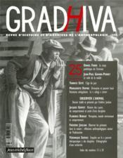 Cahier De Gradhiva N.25 ; Observer L'Animal - Couverture - Format classique