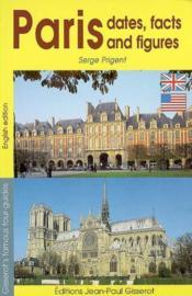 Paris En Dates Et En Chiffres (Anglais) - Couverture - Format classique