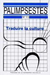 Traduire la culture - Couverture - Format classique