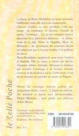 7 visages de marie-madeleine (les) - 4ème de couverture - Format classique