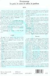 Revue Action Poetique N.171 ; Cinq Poètes Néerlandais - 4ème de couverture - Format classique