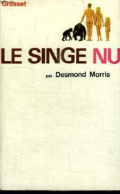 Le Singe Nu. - Couverture - Format classique