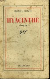 Hyacinthe. - Couverture - Format classique