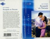 Escapade En Toscane - The Italian Match - Couverture - Format classique
