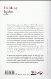 Jujubes - 4ème de couverture - Format classique