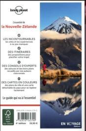 La Nouvelle-Zélande (4e édition) - 4ème de couverture - Format classique